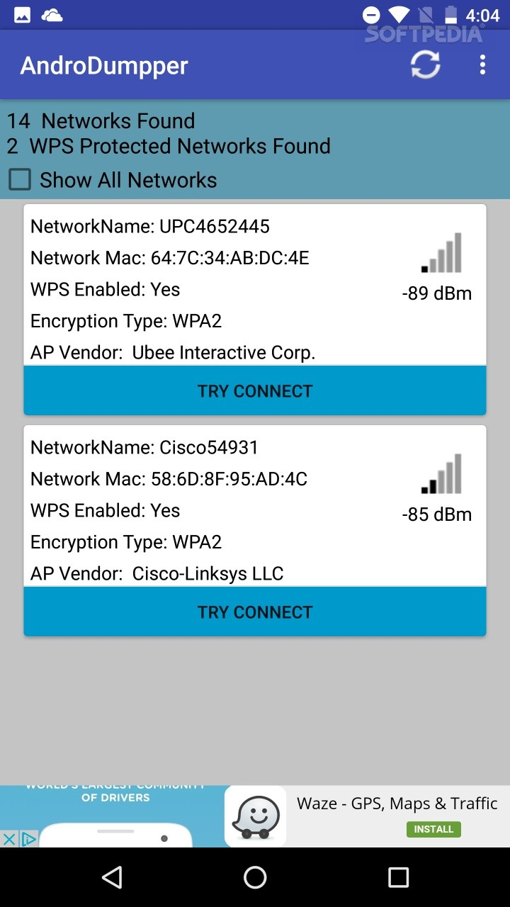 AndroDumpper ( WPS Connect ) 2 04 APK Download
