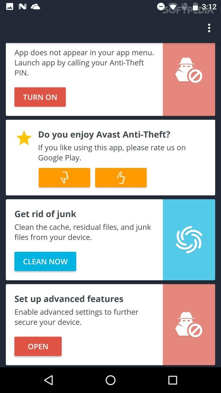 google play avast anti theft