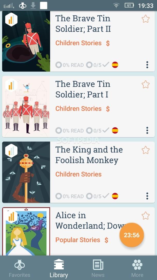 Beelinguapp: Learn a New Language with Audio Books screenshot #2