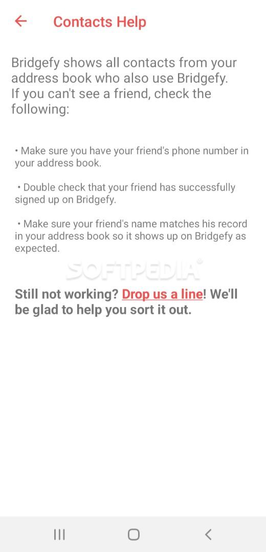 Bridgefy screenshot #2