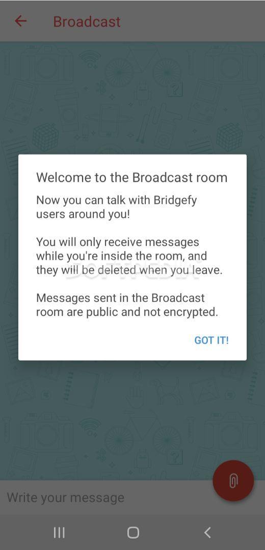 Bridgefy screenshot #3