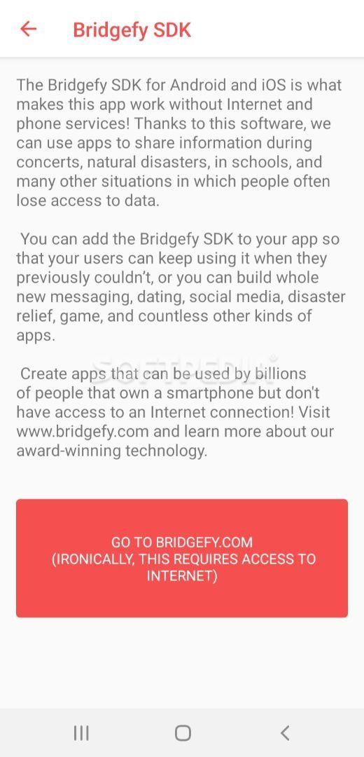 Bridgefy screenshot #5