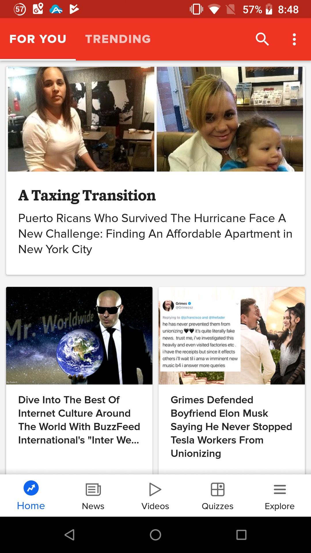 BuzzFeed: News, Tasty, Quizzes 26.26 APK Download