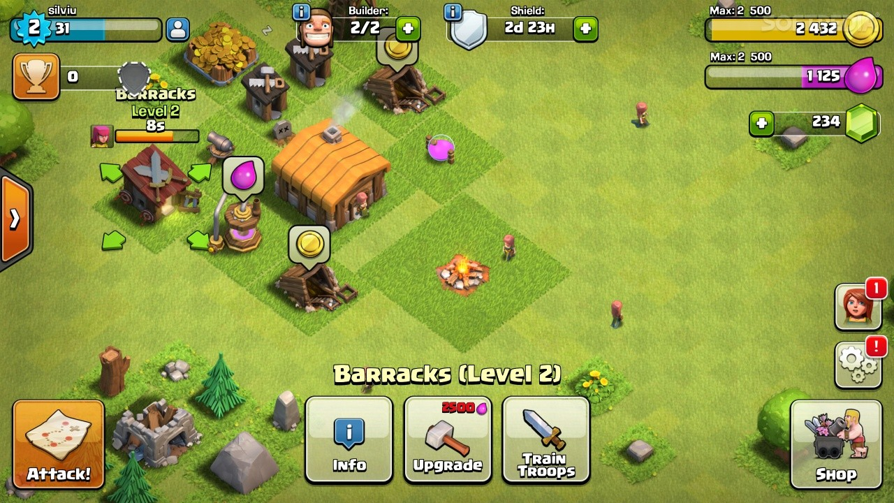 clash of clans version 10.322.4
