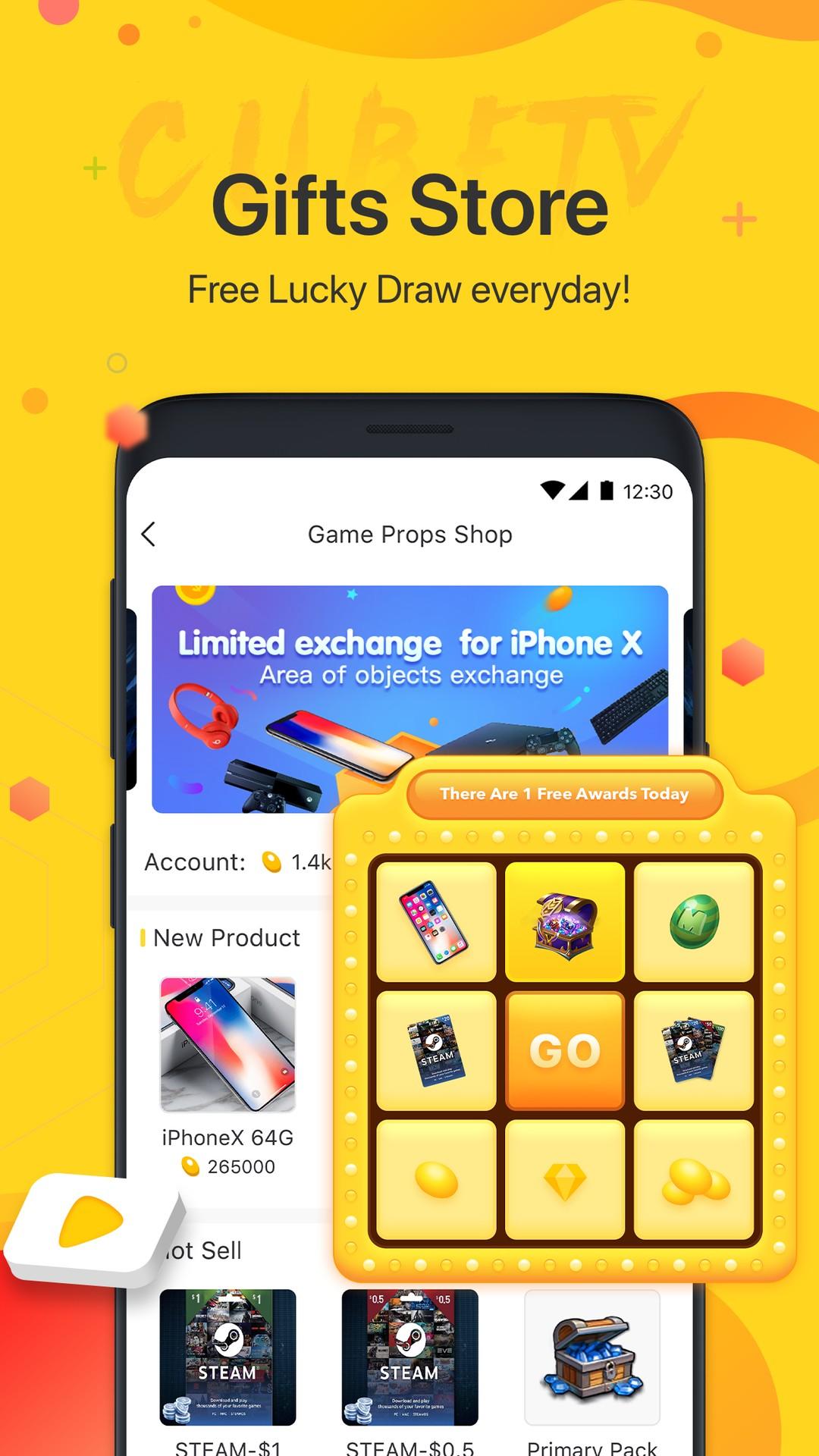 Cube TV - Live Stream Games Community 2 0 4-Beta APK Download