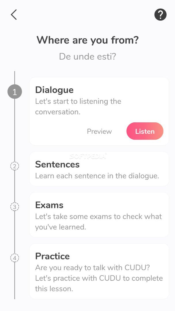 English Conversation Practice - Cudu APK Download