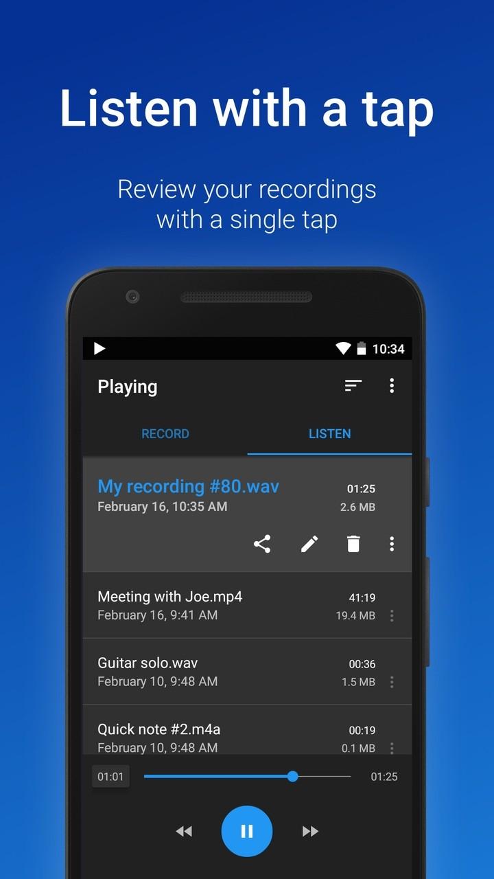 easy voice recorder pro apk 2.4.3