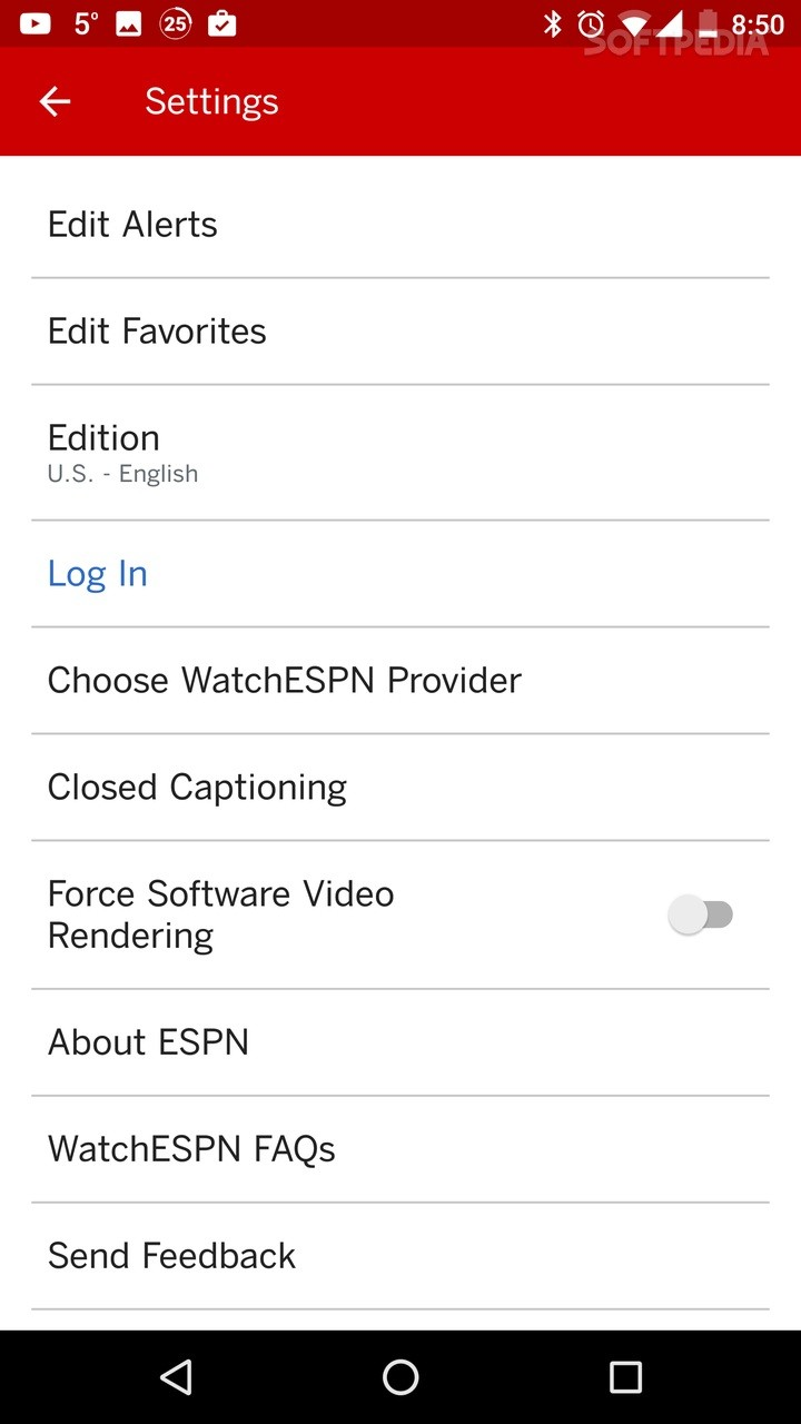 ESPN 5 4 1 APK Download