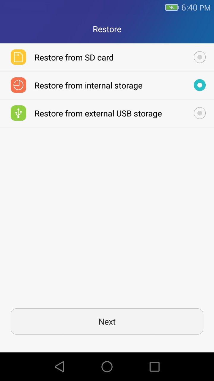 Huawei Backup APK Download