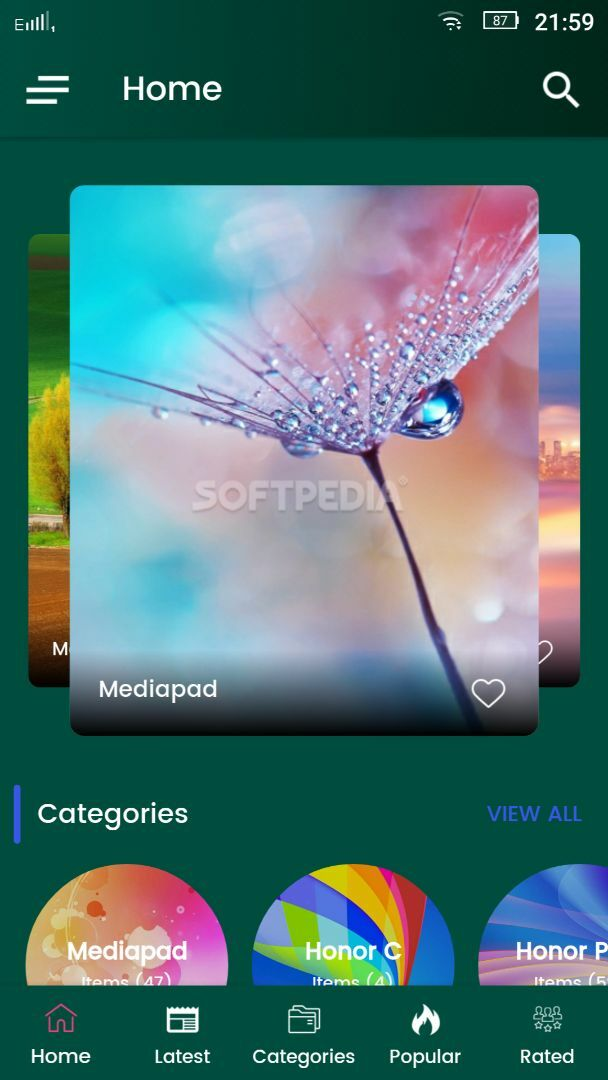 Huawei Wallpapers HD APK Download