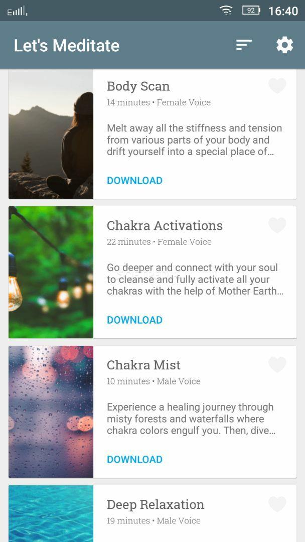 Let's Meditate: Guided Meditation screenshot #1