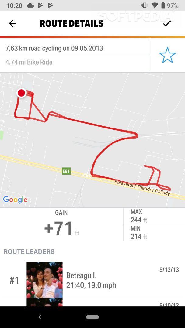 Map My Ride GPS Cycling Riding APK Download Map My Ride on