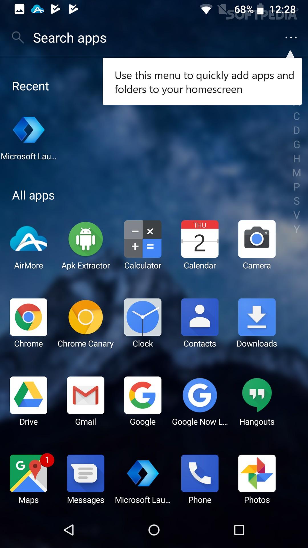 chrome app launcher apk