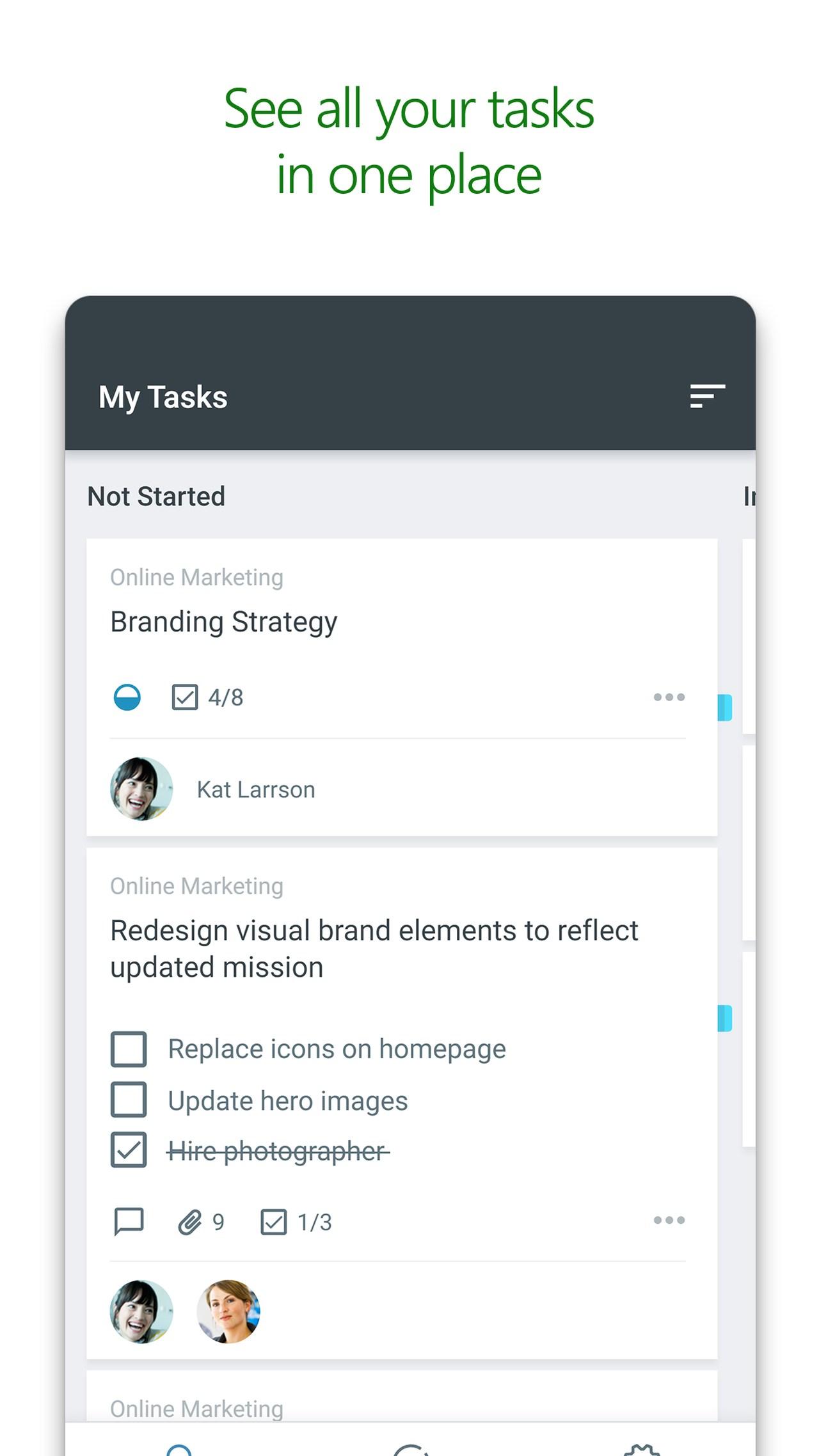 Microsoft Planner screenshot #1