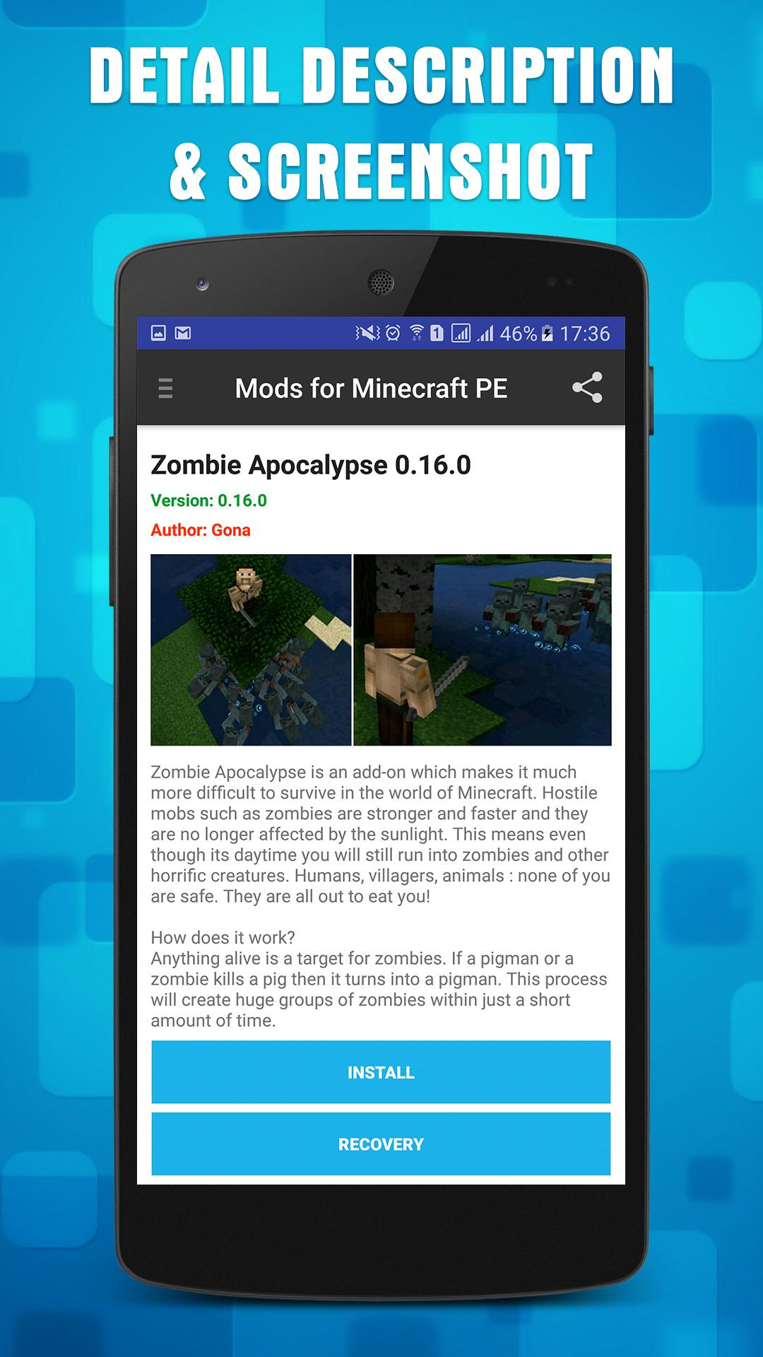 Mods & Addons for Minecraft PE 1 15 1 APK Download