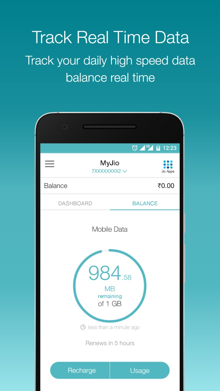 MyJio – Recharge, Vouchers, Jio Cricket Play Along 4 1 06