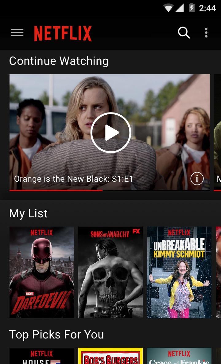 Netflix 5 15 1 build 26543 APK Download