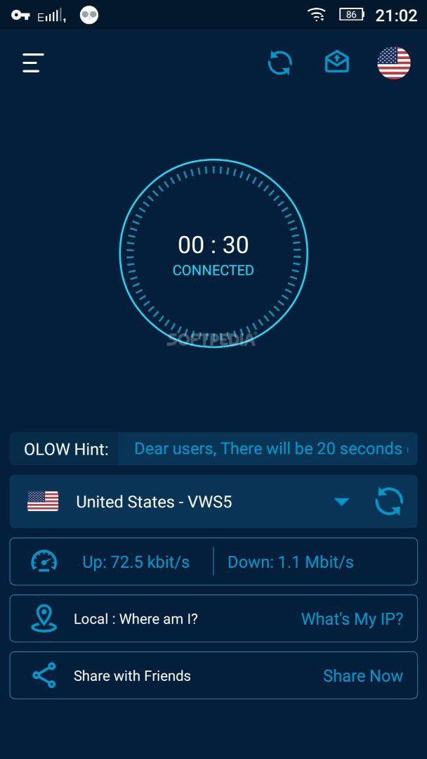 Olow Vpn Unlimited Free Vpn Apk Download
