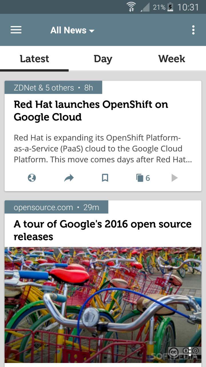 Open Source News screenshot #0