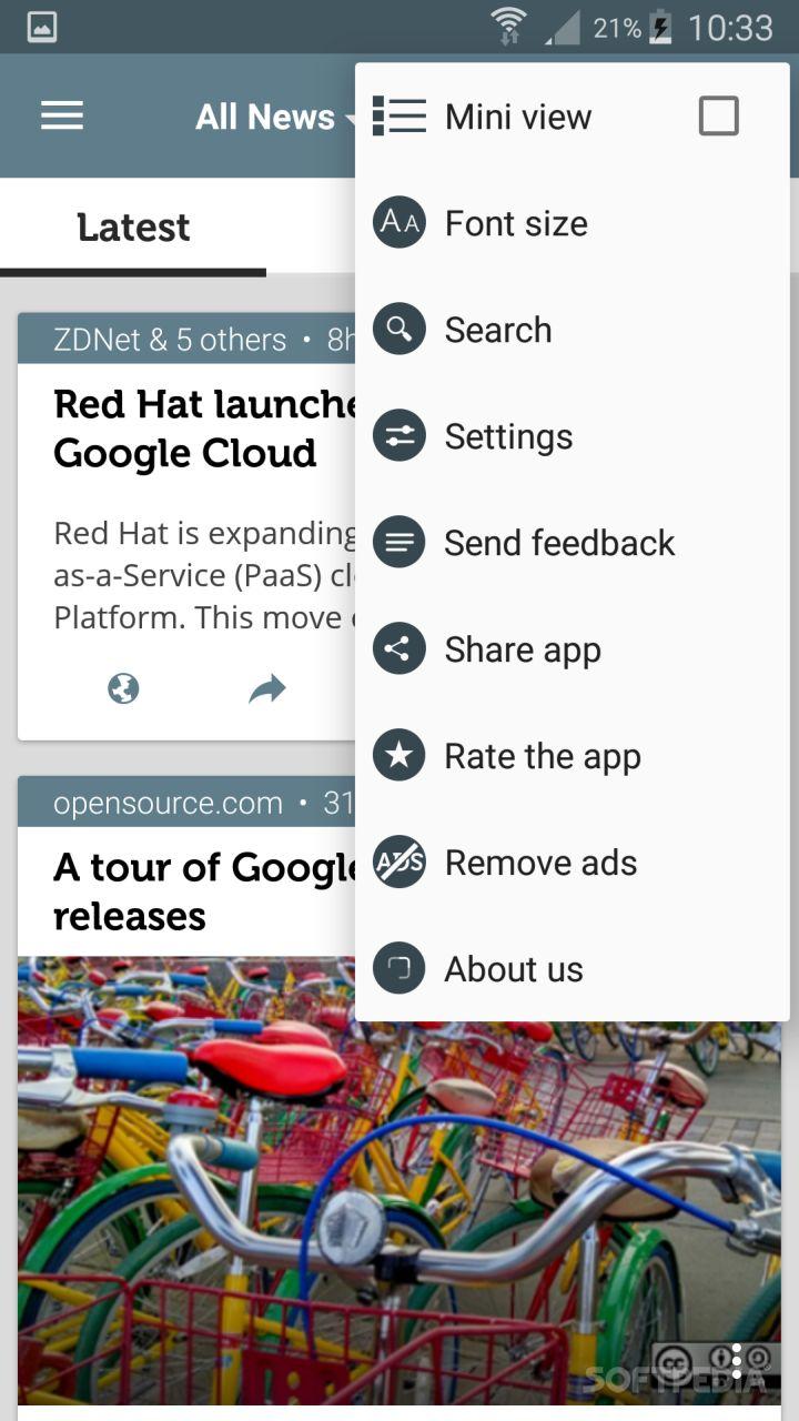 Open Source News screenshot #4
