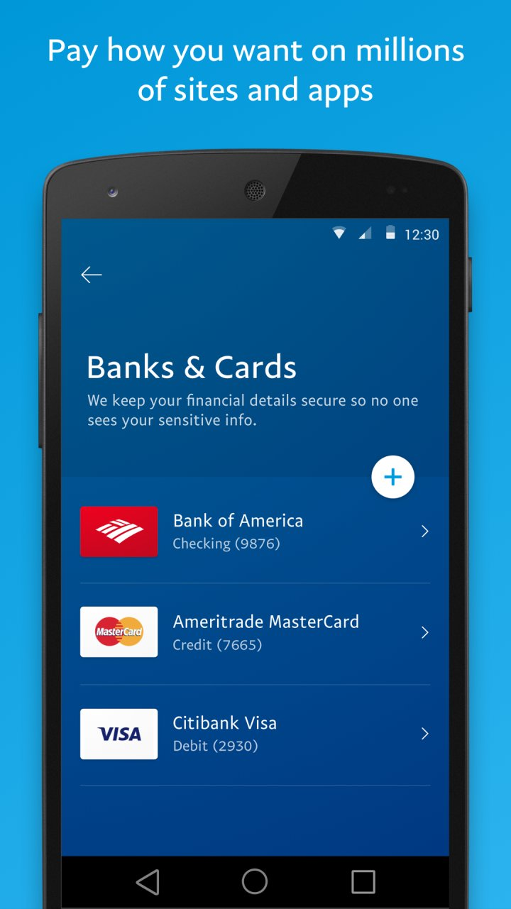 Paypal Mobile Cash 7 1 0 Apk Download
