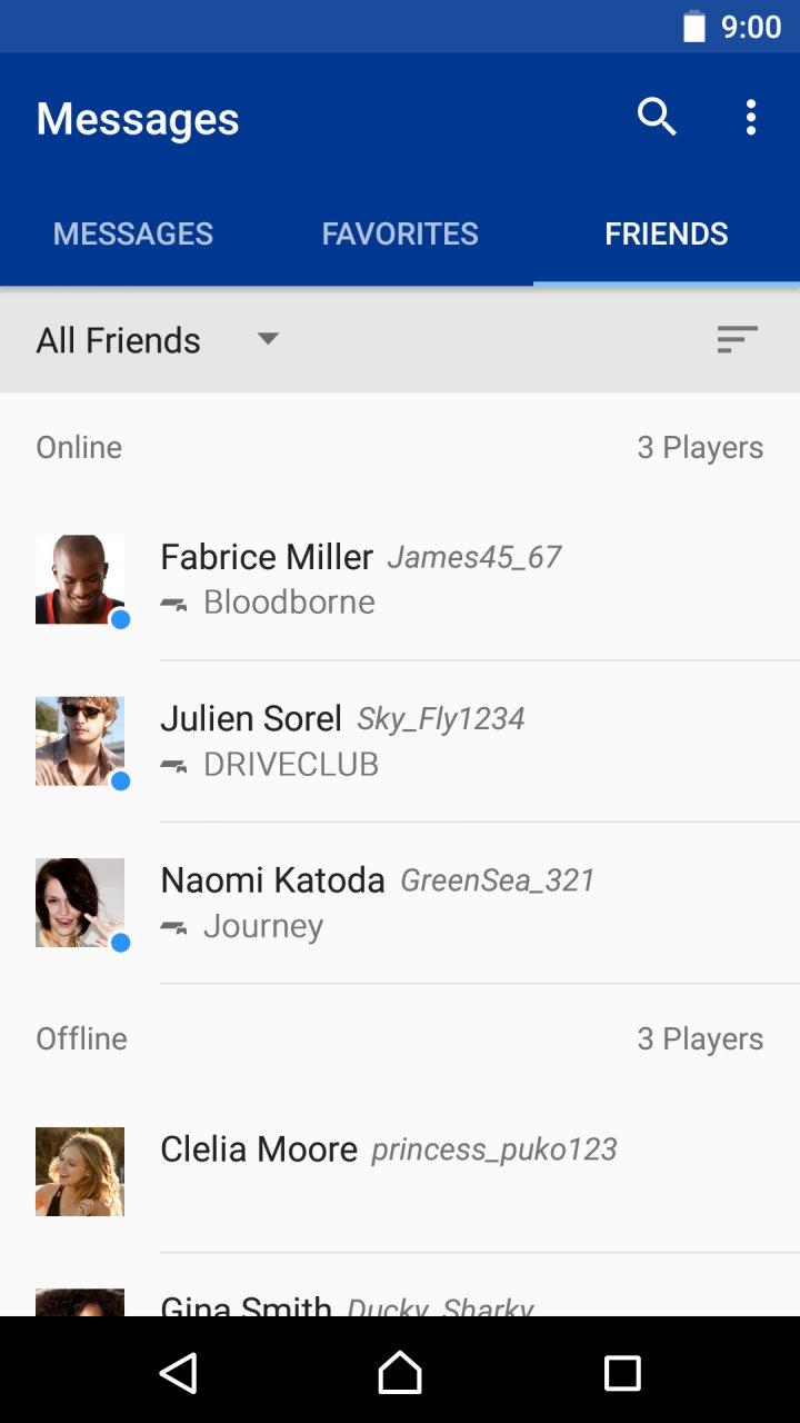 PlayStation Messages APK Download