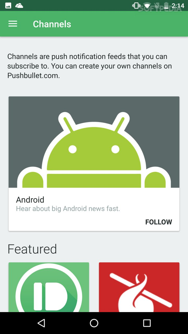 download pushbullet apk for android