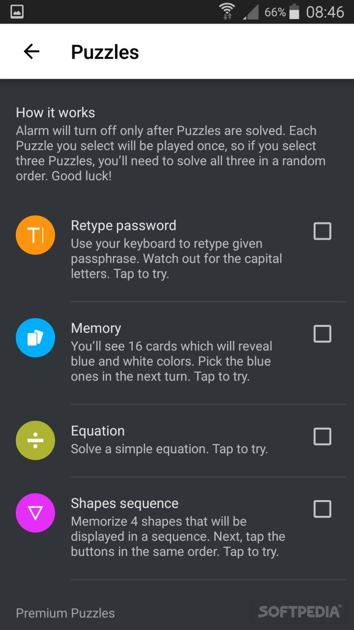 Puzzle Alarm Clock APK Download