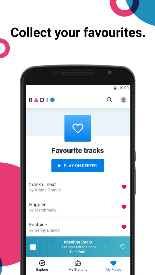 Radio by Deezer: FM Stations & Online Radio Player 1 1 1 APK