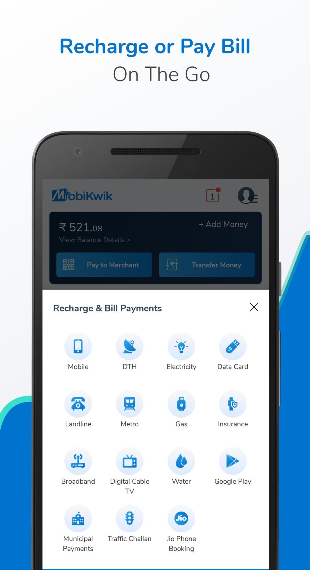 Recharge, Payments, Cabs & Wallet 11 0 2 APK Download