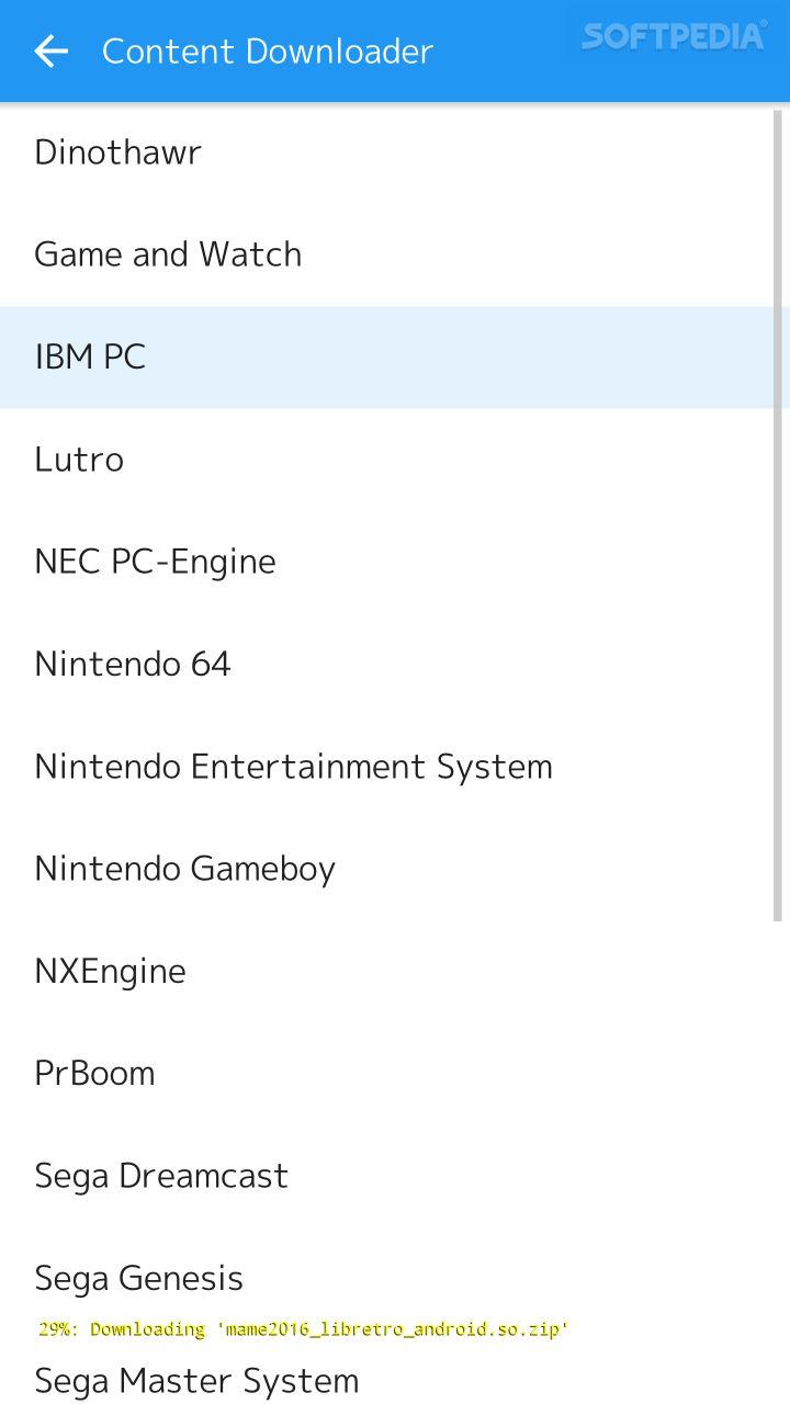 RetroArch 1 6 3 APK Download