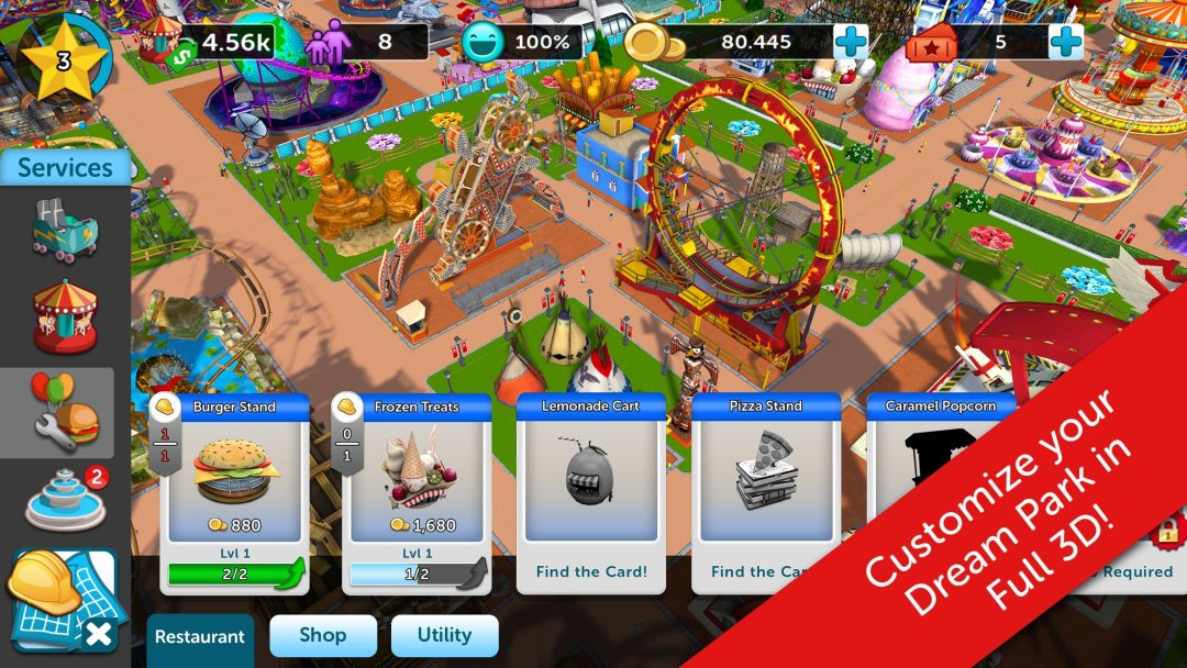 RollerCoaster Tycoon Touch 1 13 3 APK Download