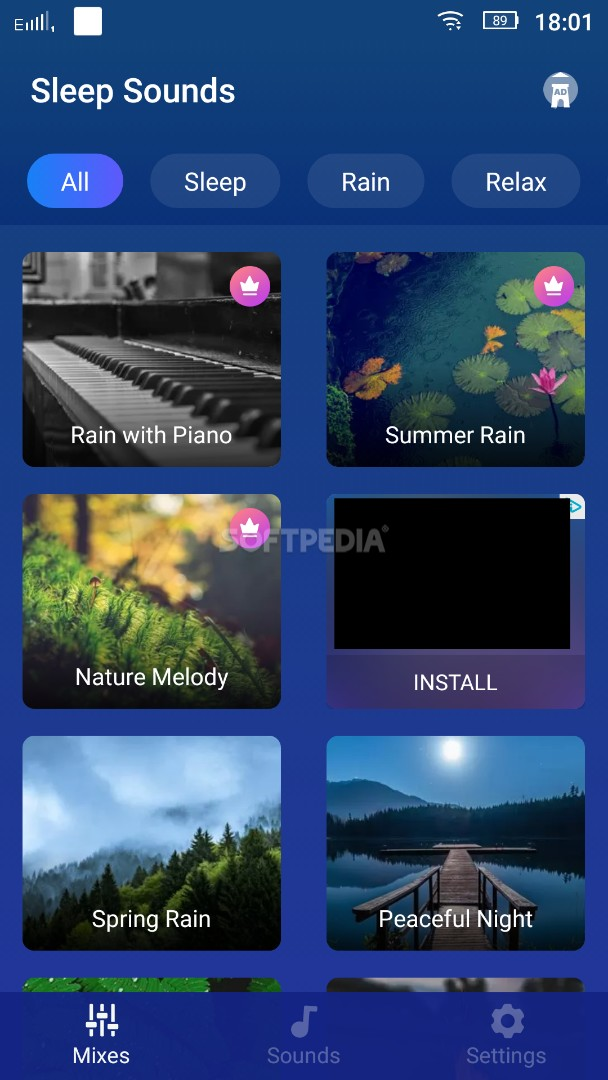 Sleep Sounds Free - Relax Music, White Noise APK Download