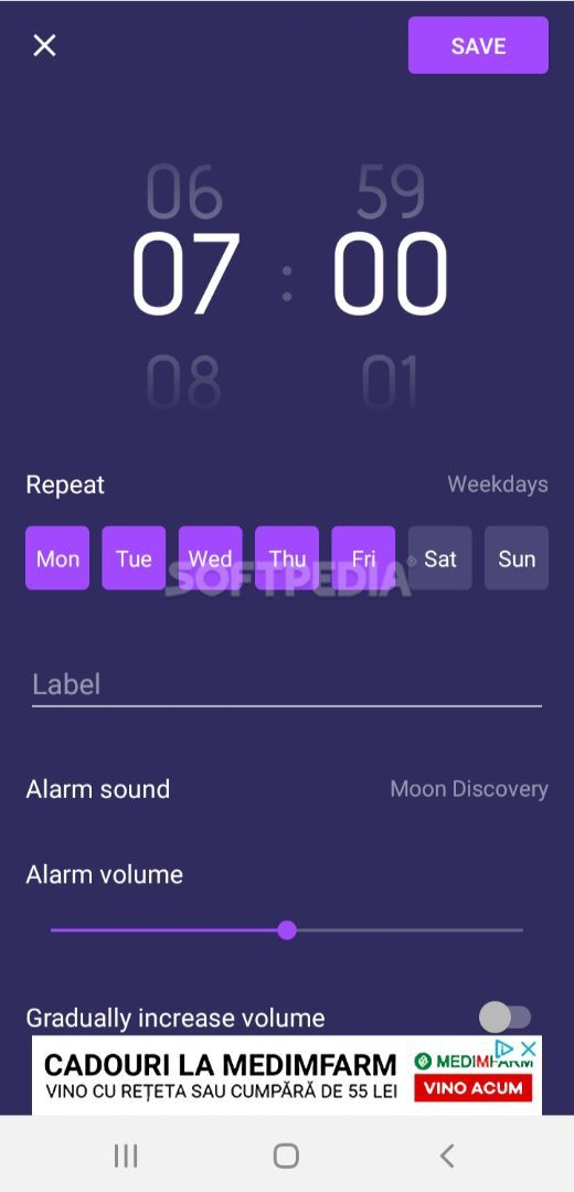 Smart Alarm Clock screenshot #1