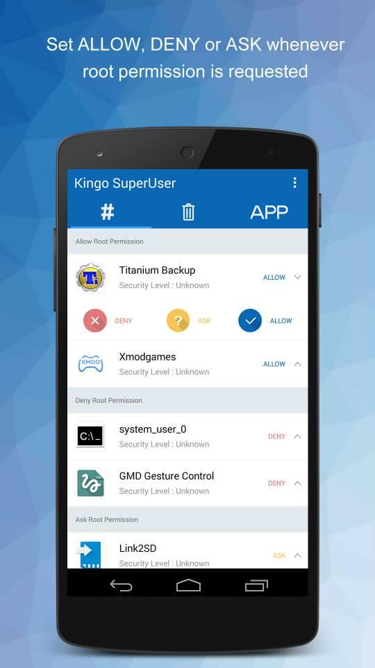 SuperUser 2 1 7 6 APK Download