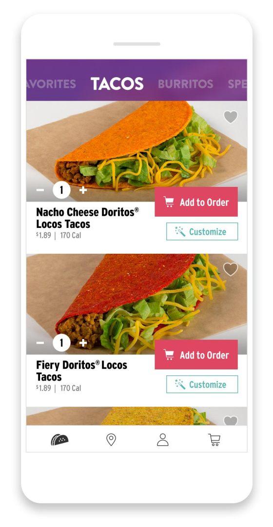 Taco Bell screenshot #2