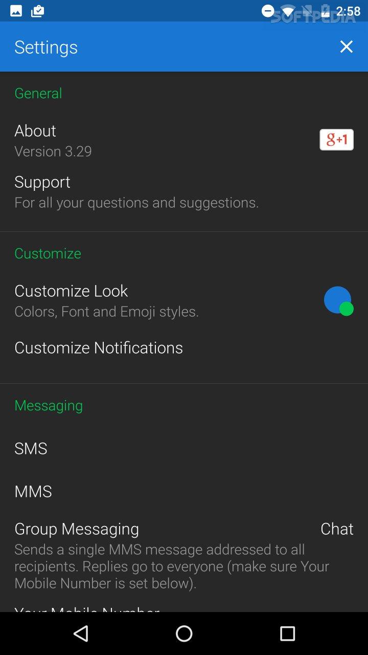 textra sms pro apk 3.43