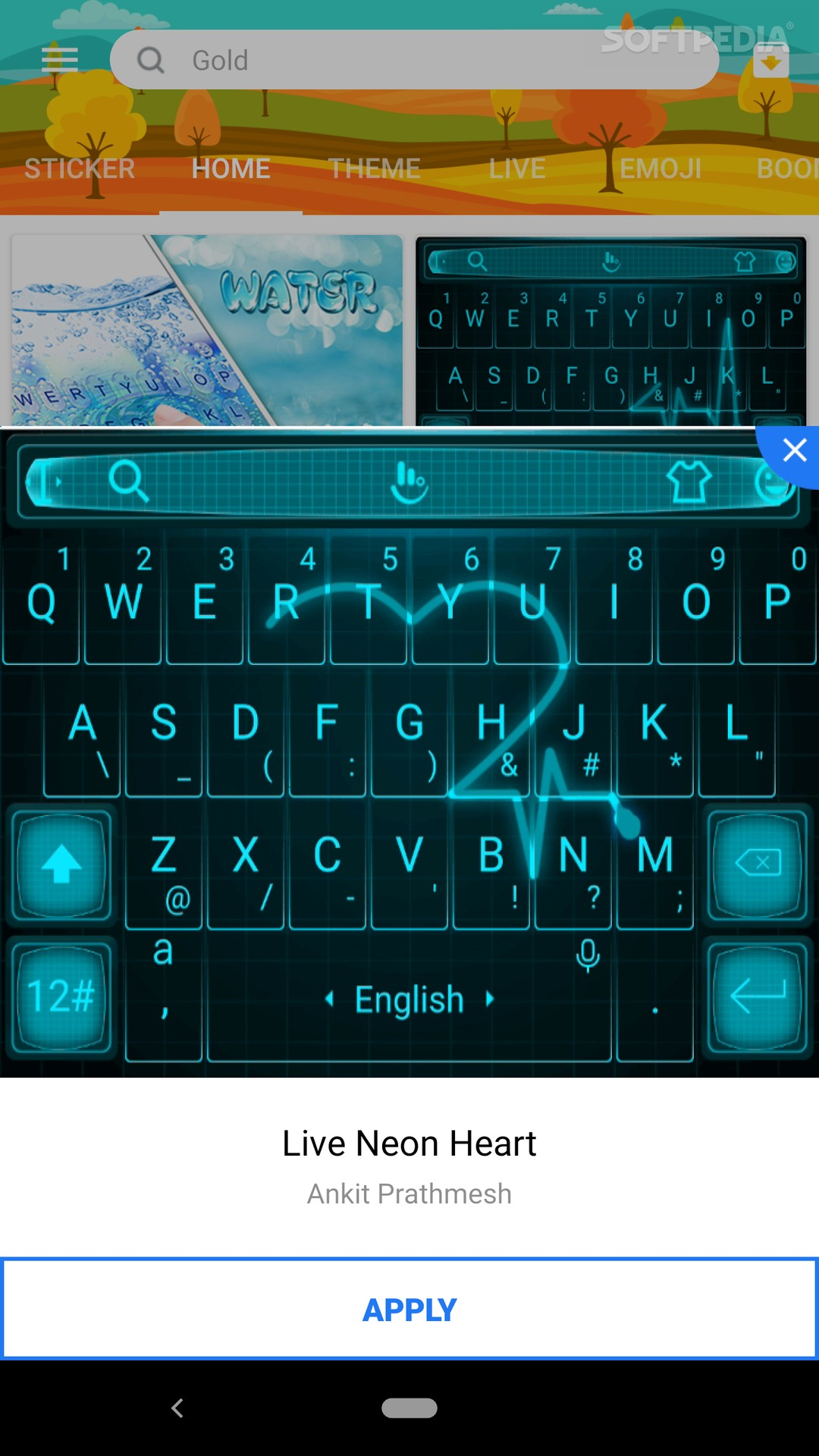 TouchPal Keyboard Pro- type with AI assistant 6 9 6 0