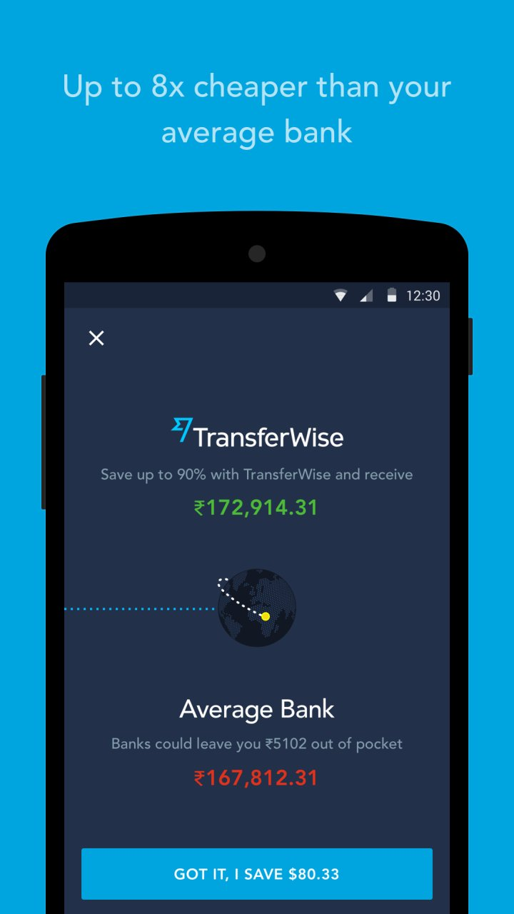 TransferWise 4 6 1 APK Download