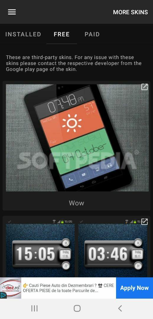 UCCW - Ultimate custom widget screenshot #1