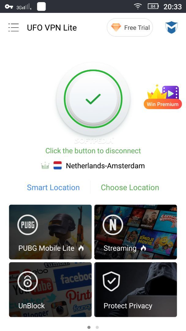 UFO VPN Lite - Free VPN Proxy & Secure WiFi Master 2 5 7 APK Download