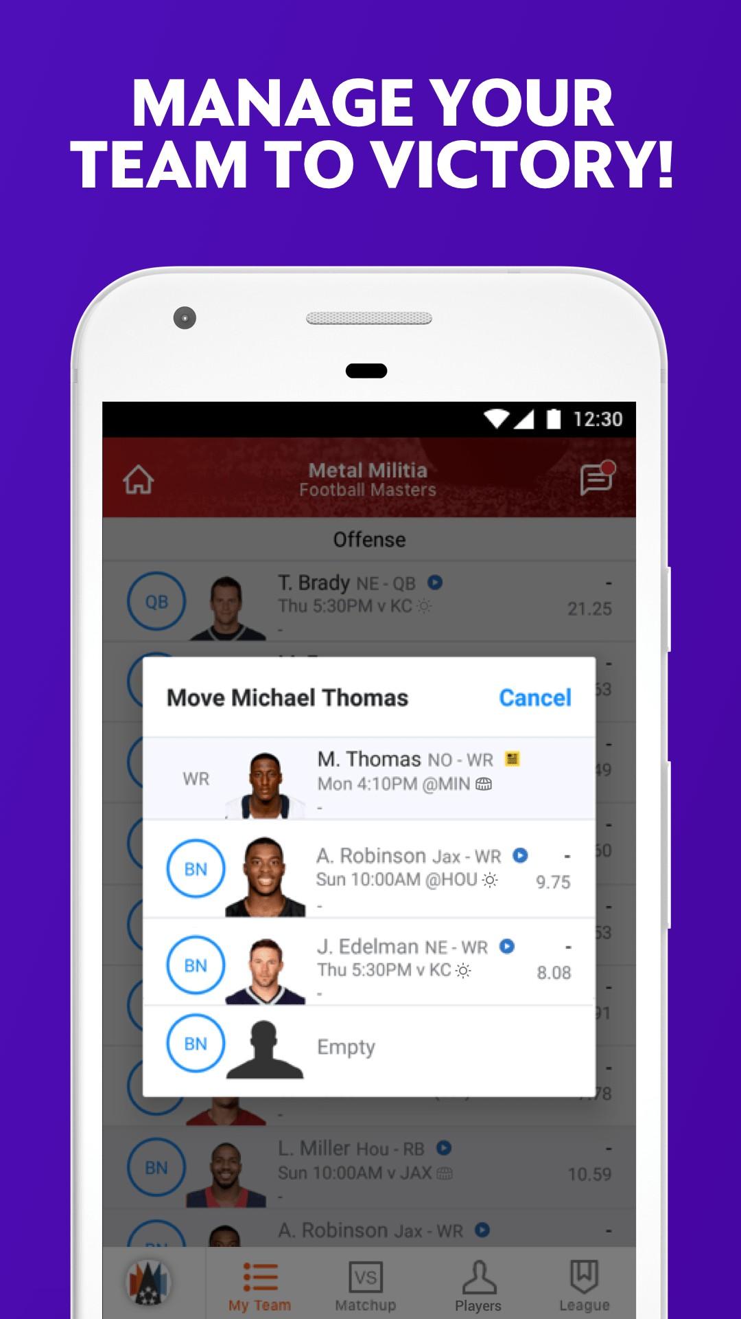 Yahoo Fantasy Sports screenshot #3