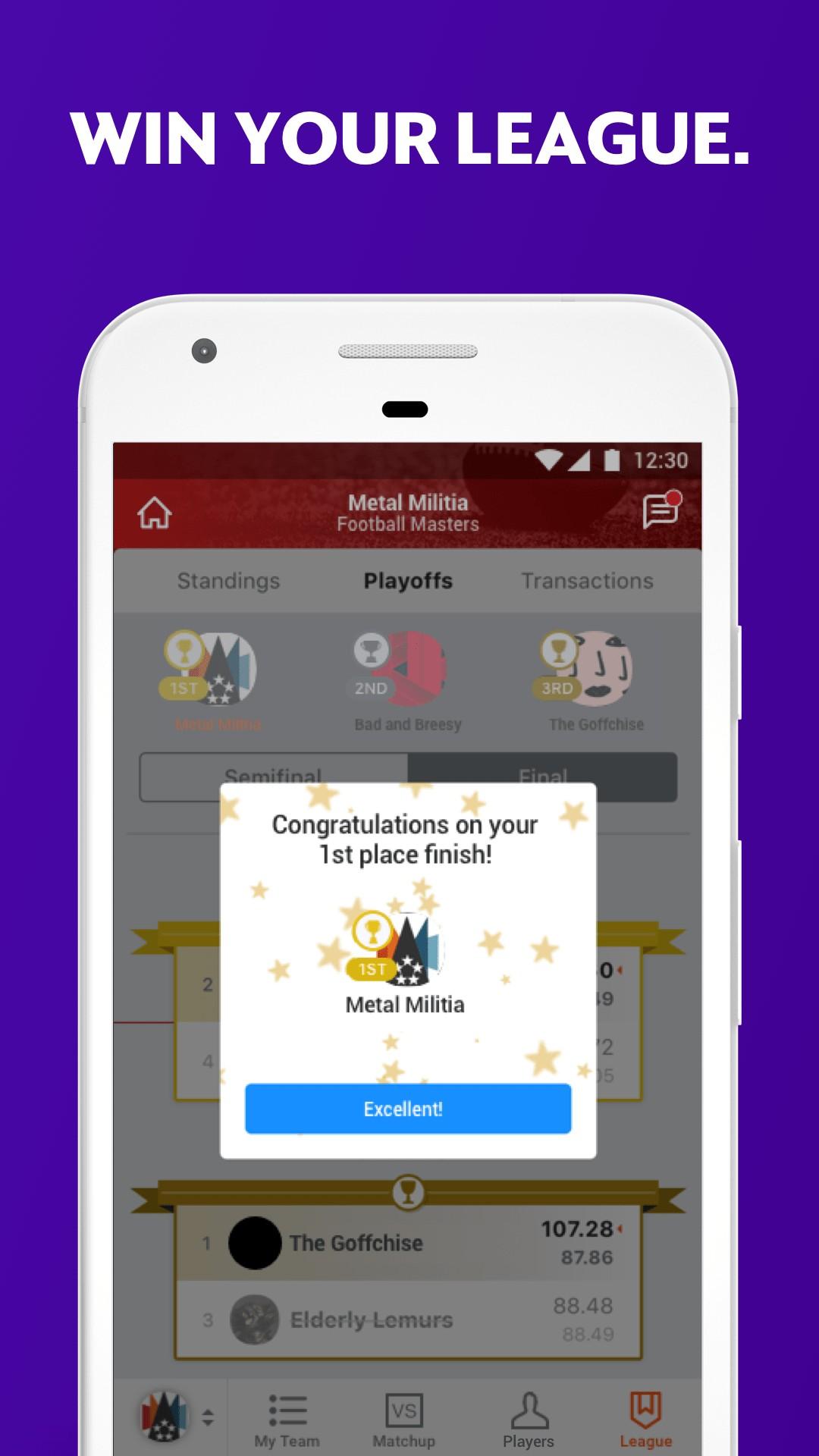 Yahoo Fantasy Sports screenshot #4