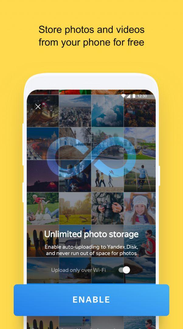 Yandex Disk APK Download