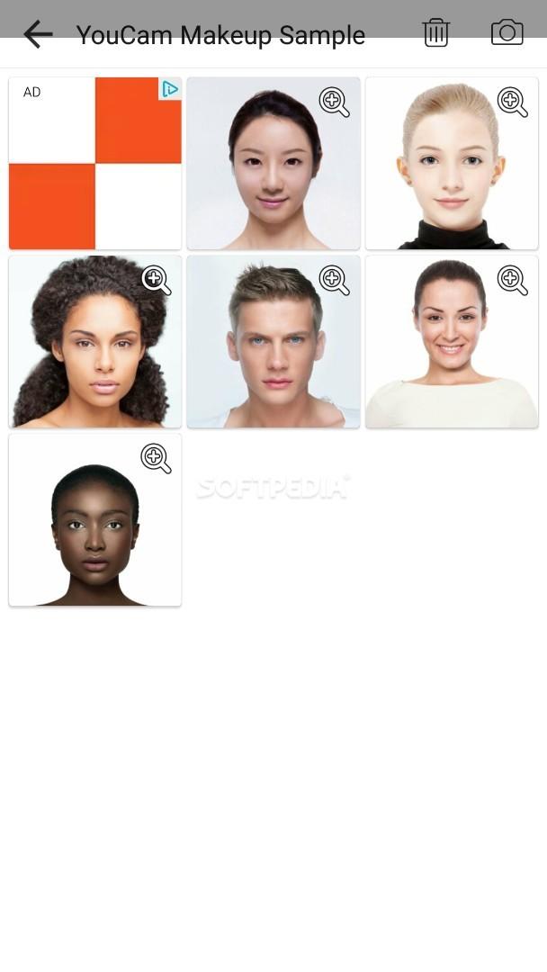 ... YouCam Makeup - Magic Selfie Makeovers - screenshot #2 ...