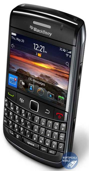 Blackberry bold media plyer