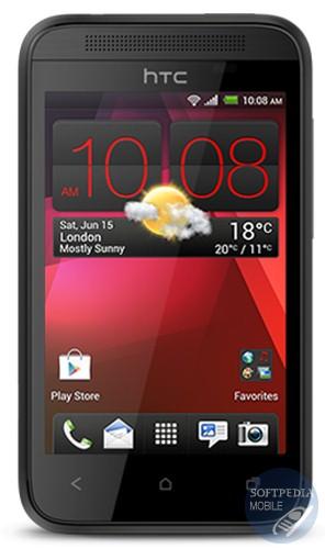 HTC Desire 200, The Information