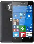 'Microsoft Lumia 950 XL' from the web at 'http://mobile.cdn.softpedia.com/phone-pics/microsoft-lumia-950-xl-0.jpg'